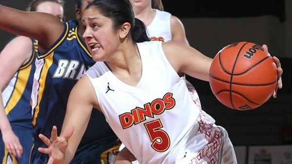 Anmol Mattu playing basketball with Dinos