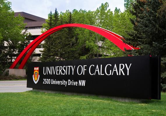 UCalgary sign on main campus